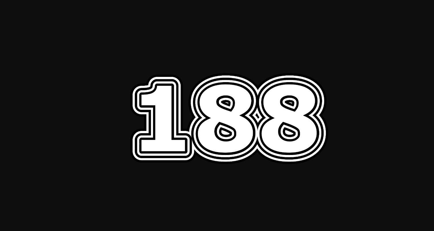 Numerologie 188