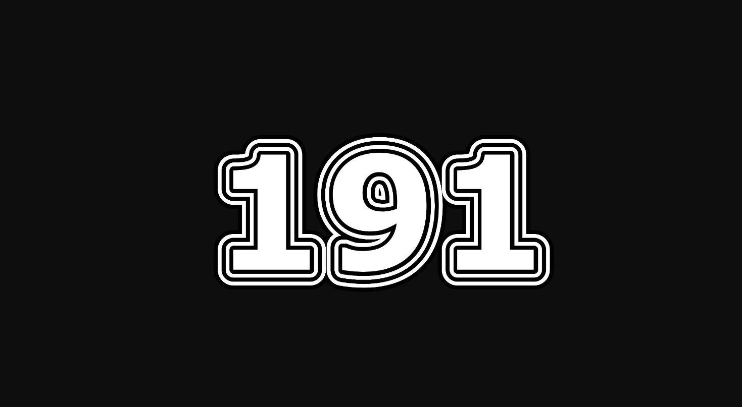 Numerologie 191