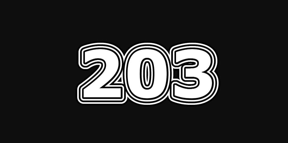 Numerologie 203