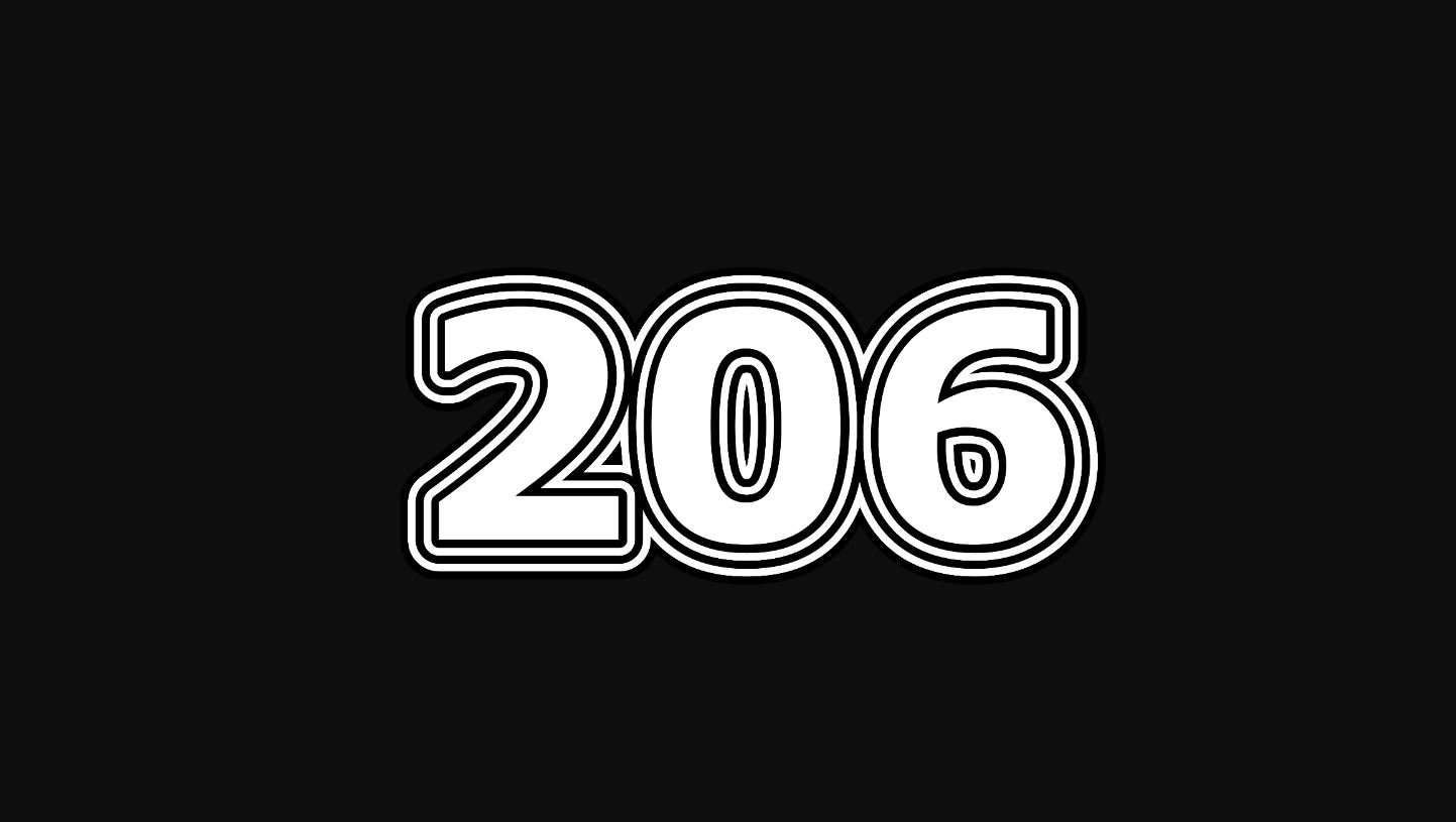 Numerologie 206