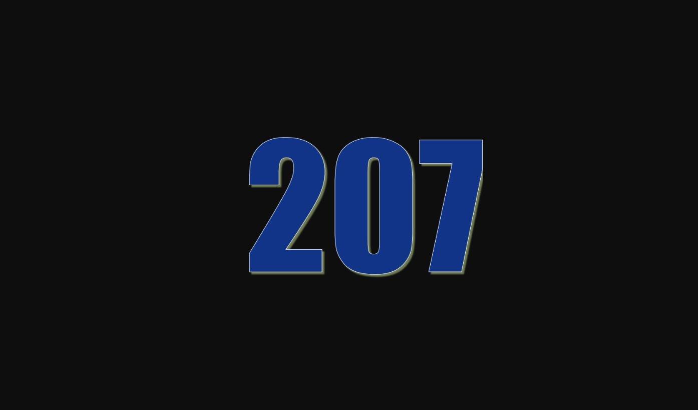 Numerologie 207