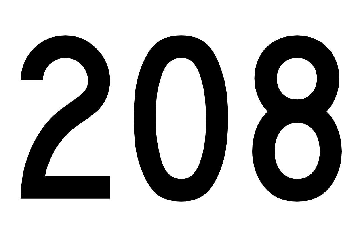 Numerologie 208