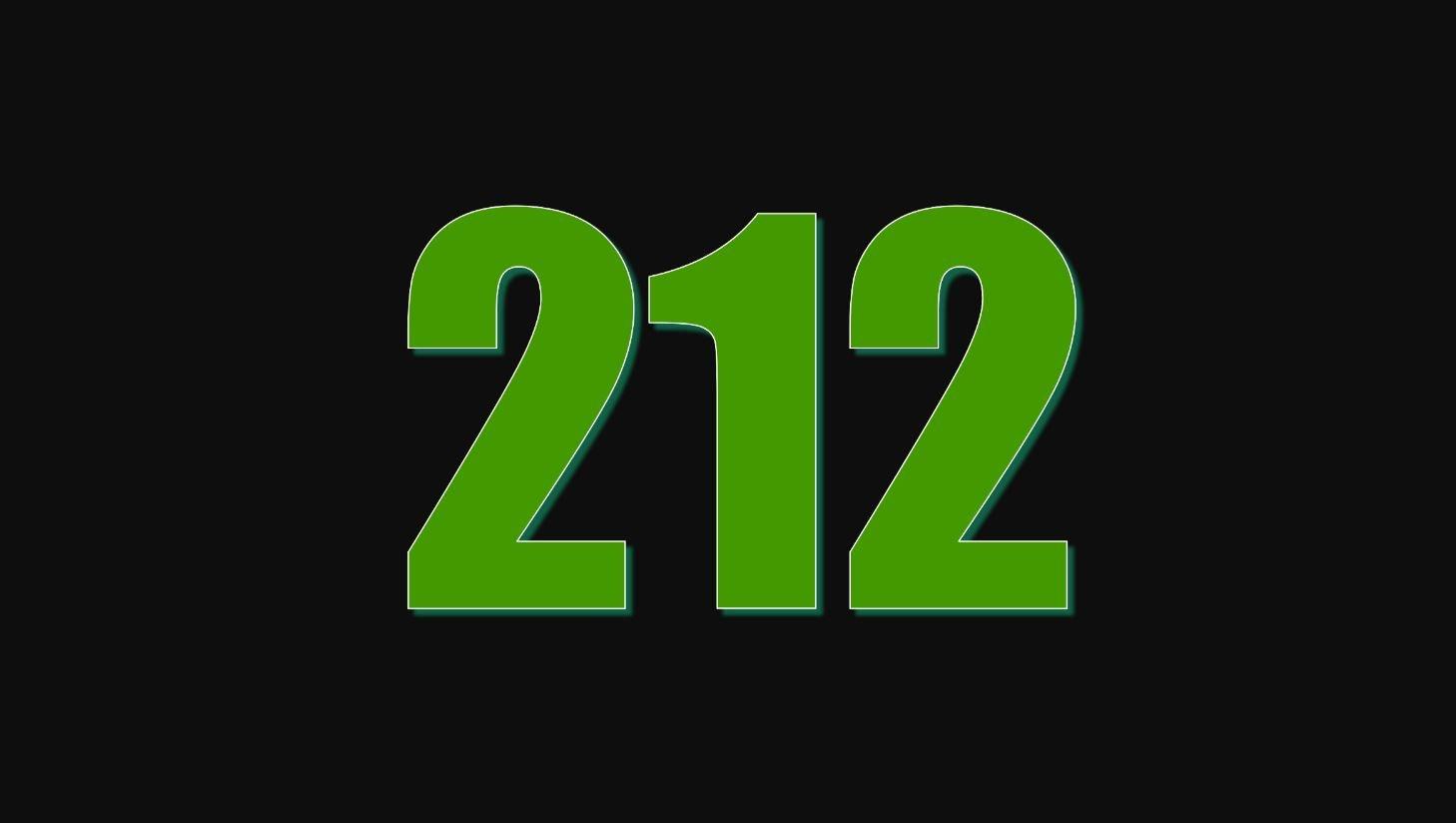 Numerologie 212