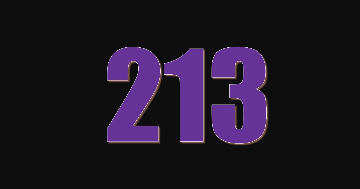 Numerologie 213