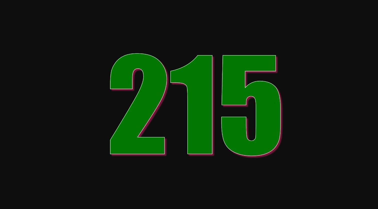 Numerologie 215