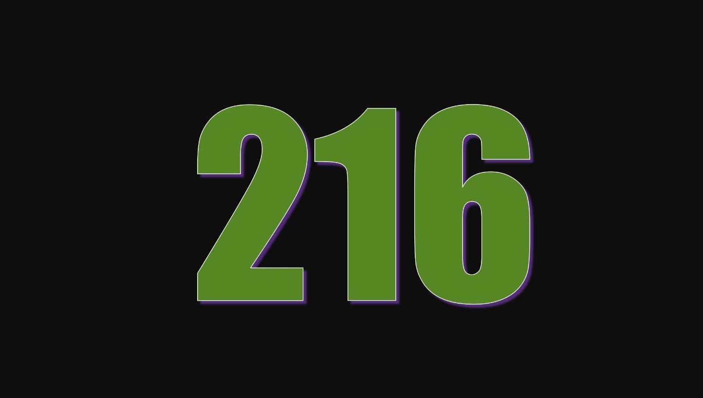 Numerologie 216