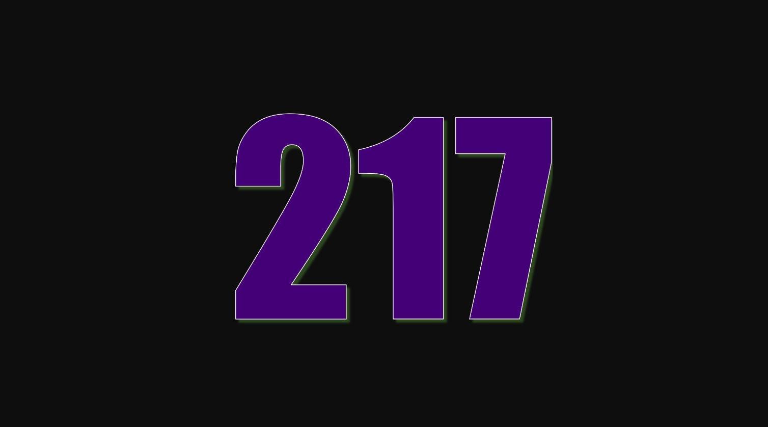 Numerologie 217
