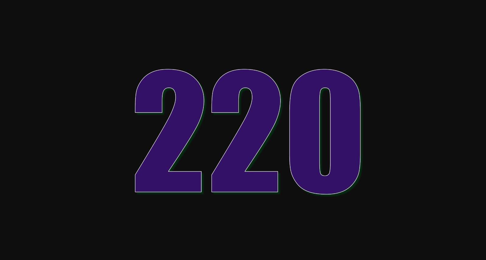 Numerologie 220