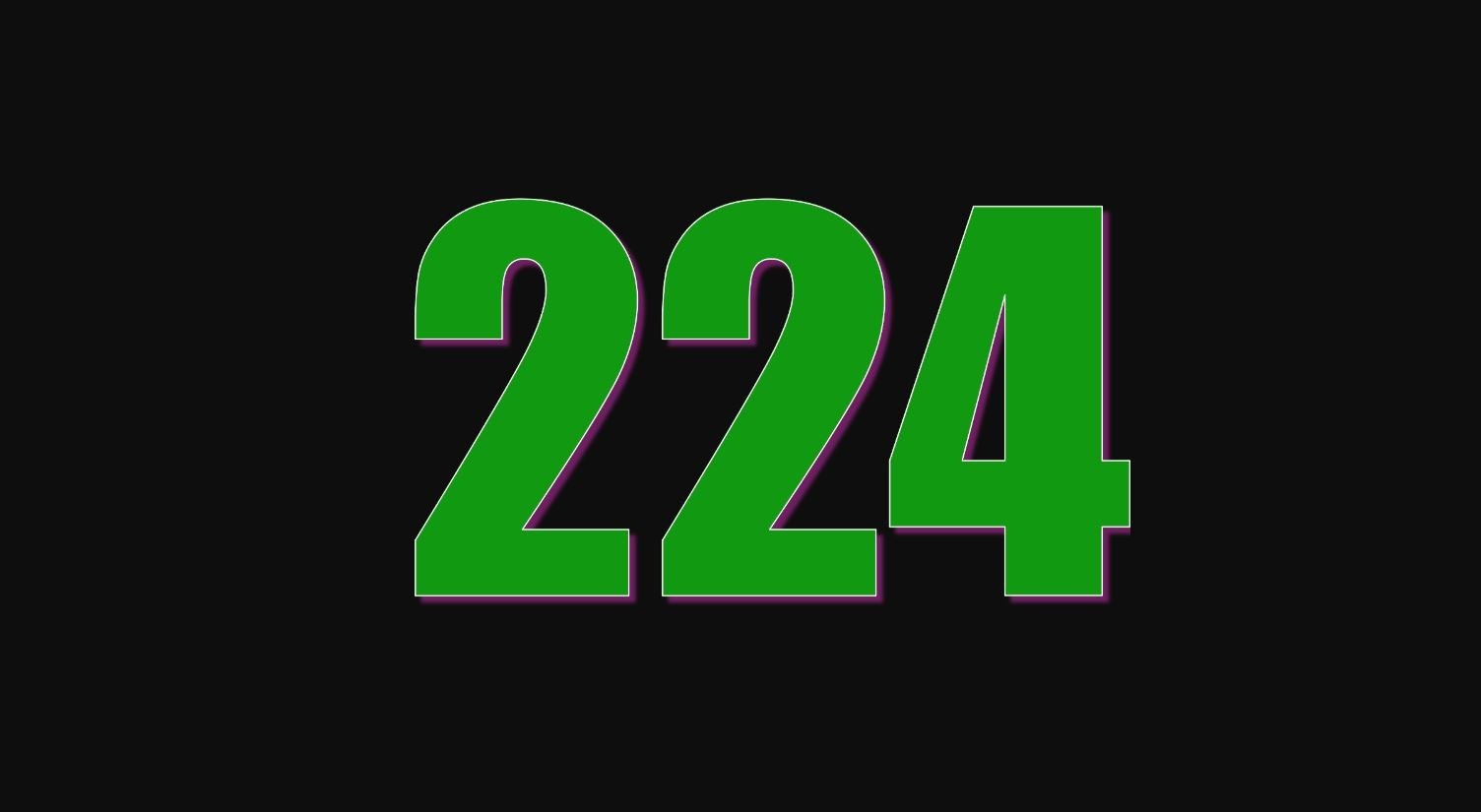 Numerologie 224
