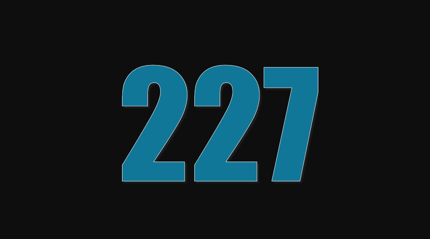 Numerologie 227