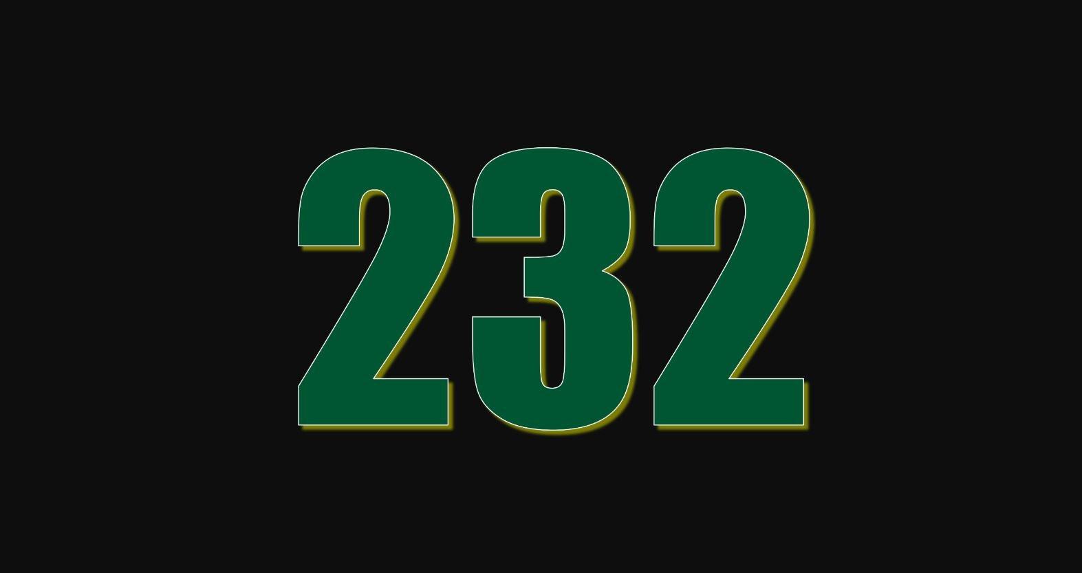 Numerologie 232