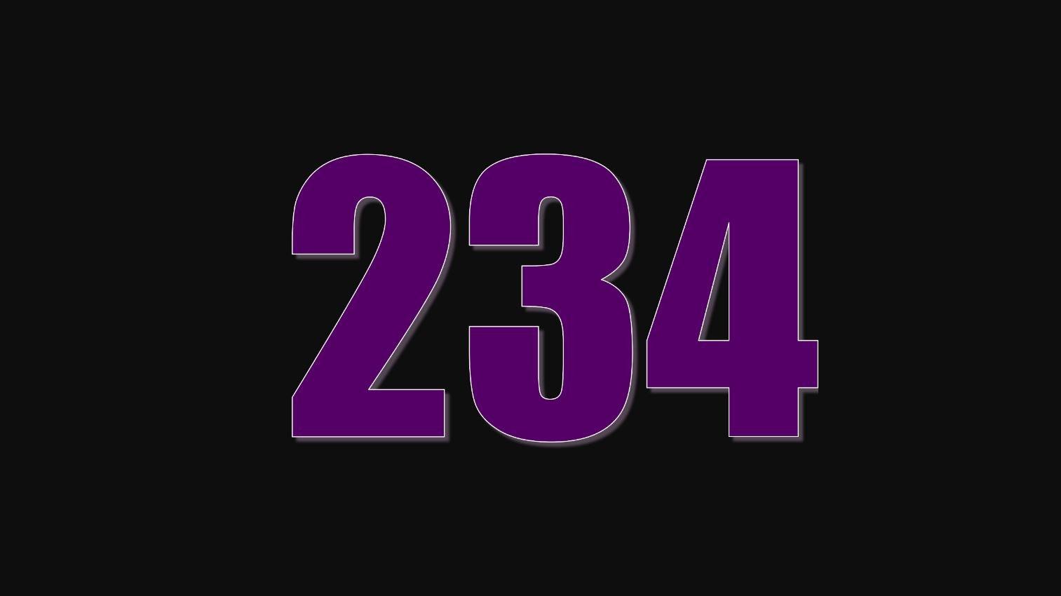 Numerologie 234