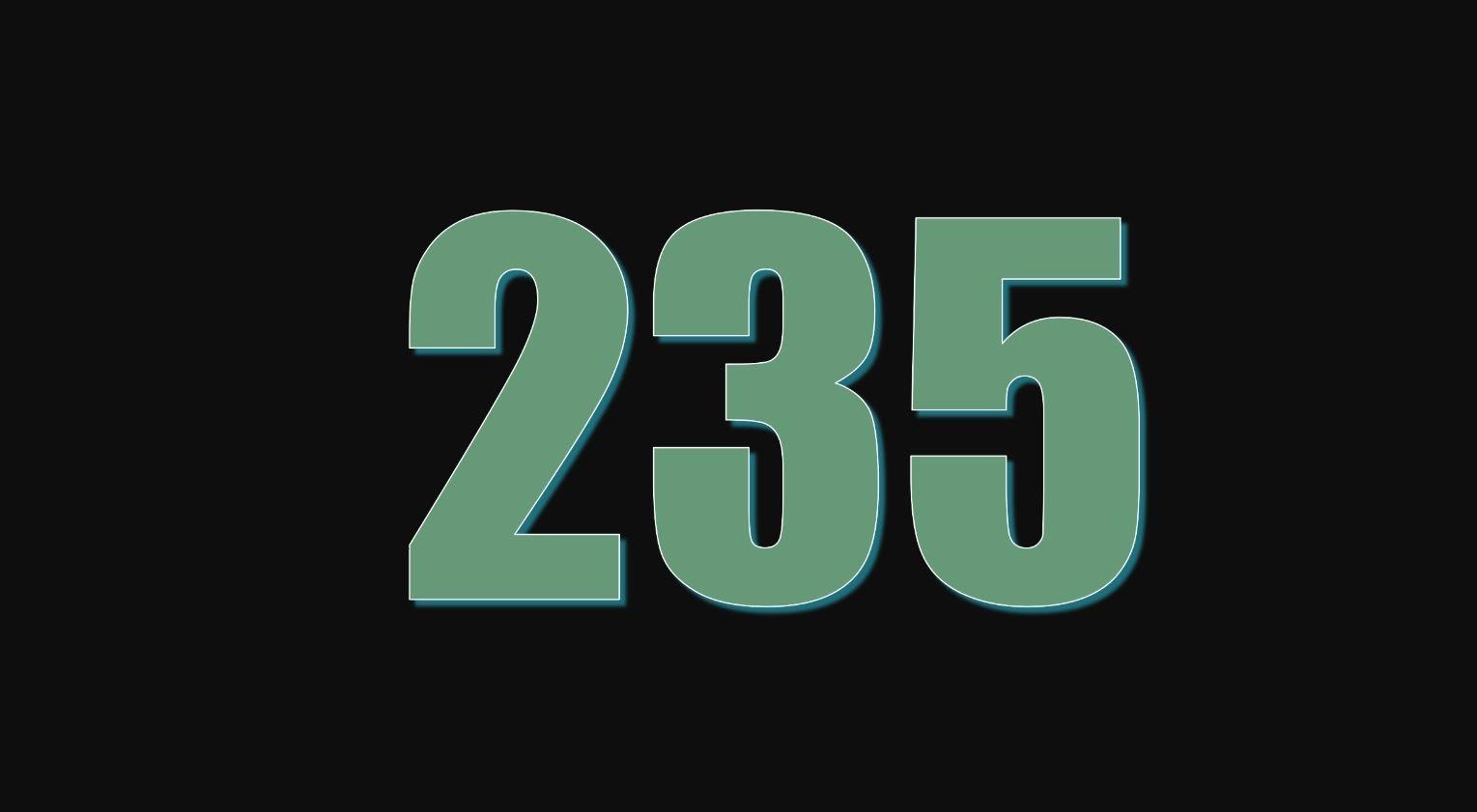 Numerologie 235