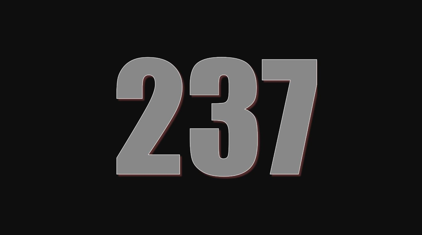 Numerologie 237