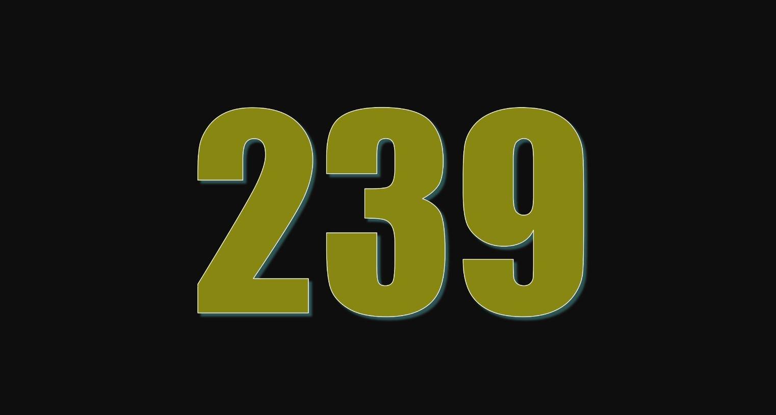 Numerologie 239