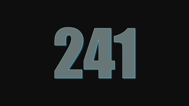 Numerologie 241