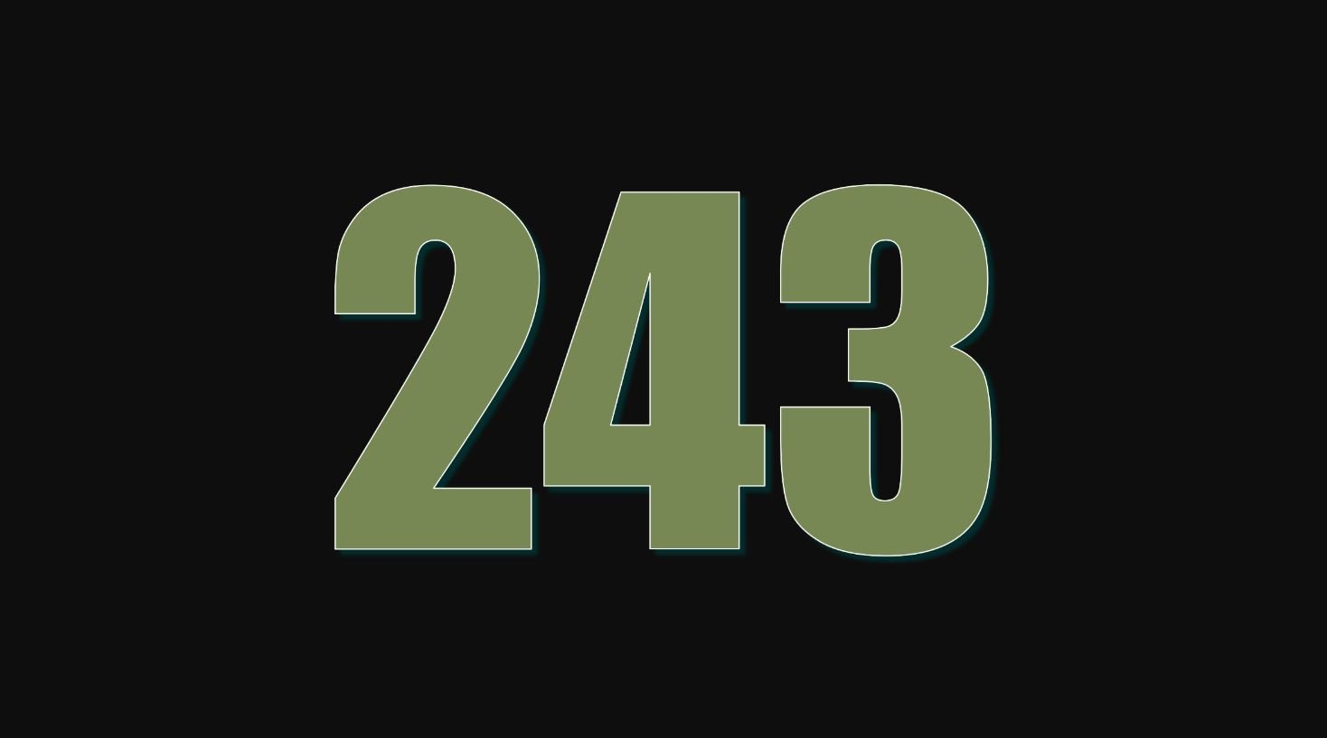 Numerologie 243