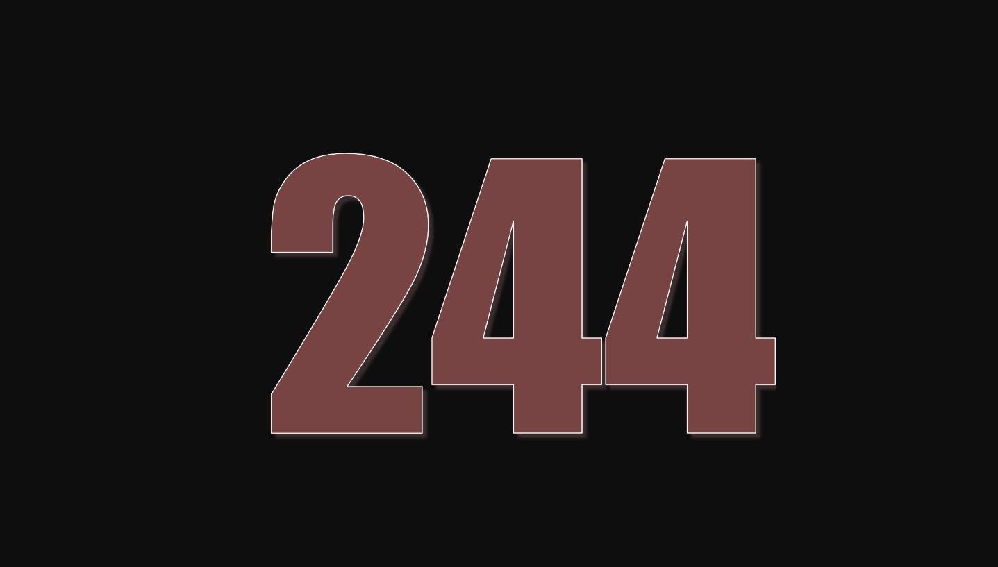 Numerologie 244