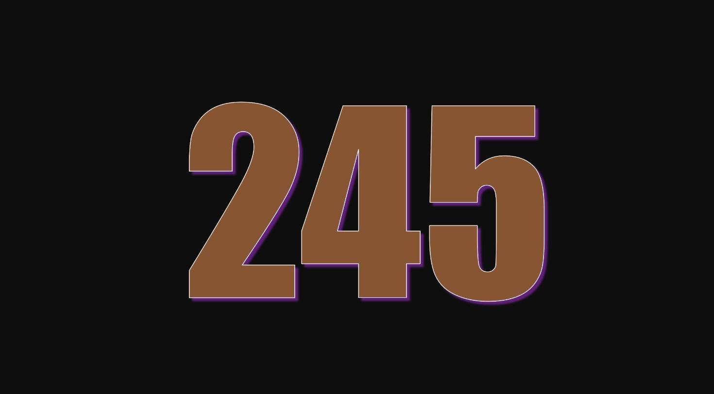Numerologie 245
