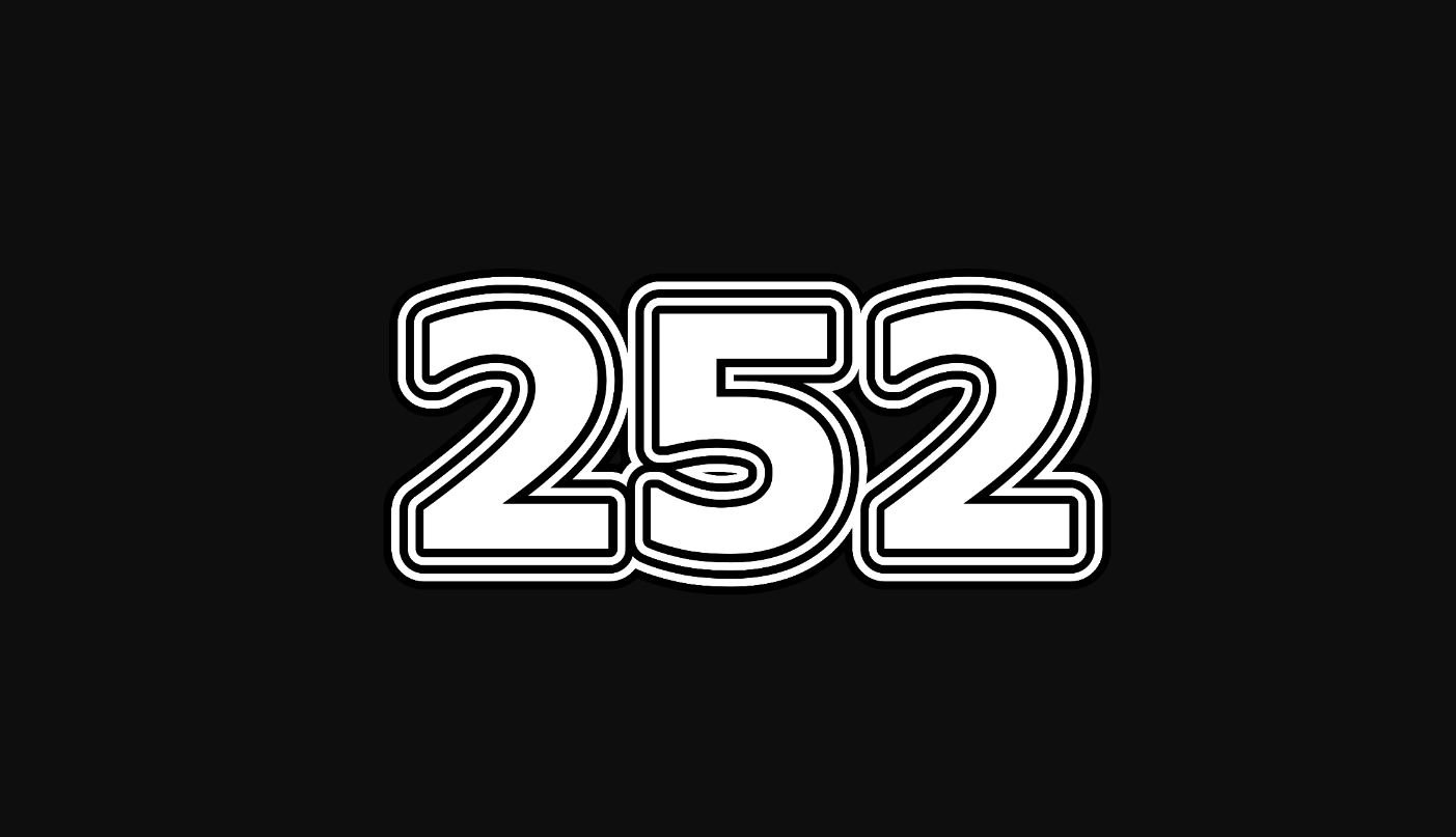 Numerologie 252