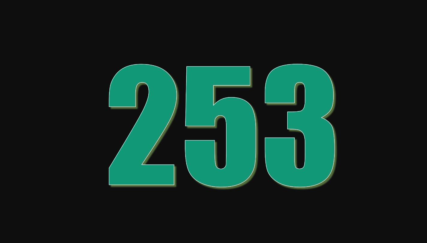 Numerologie 253