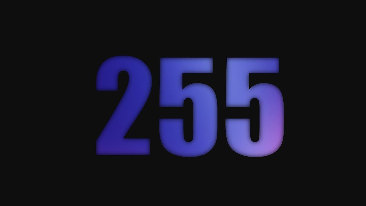 Numerologie 255