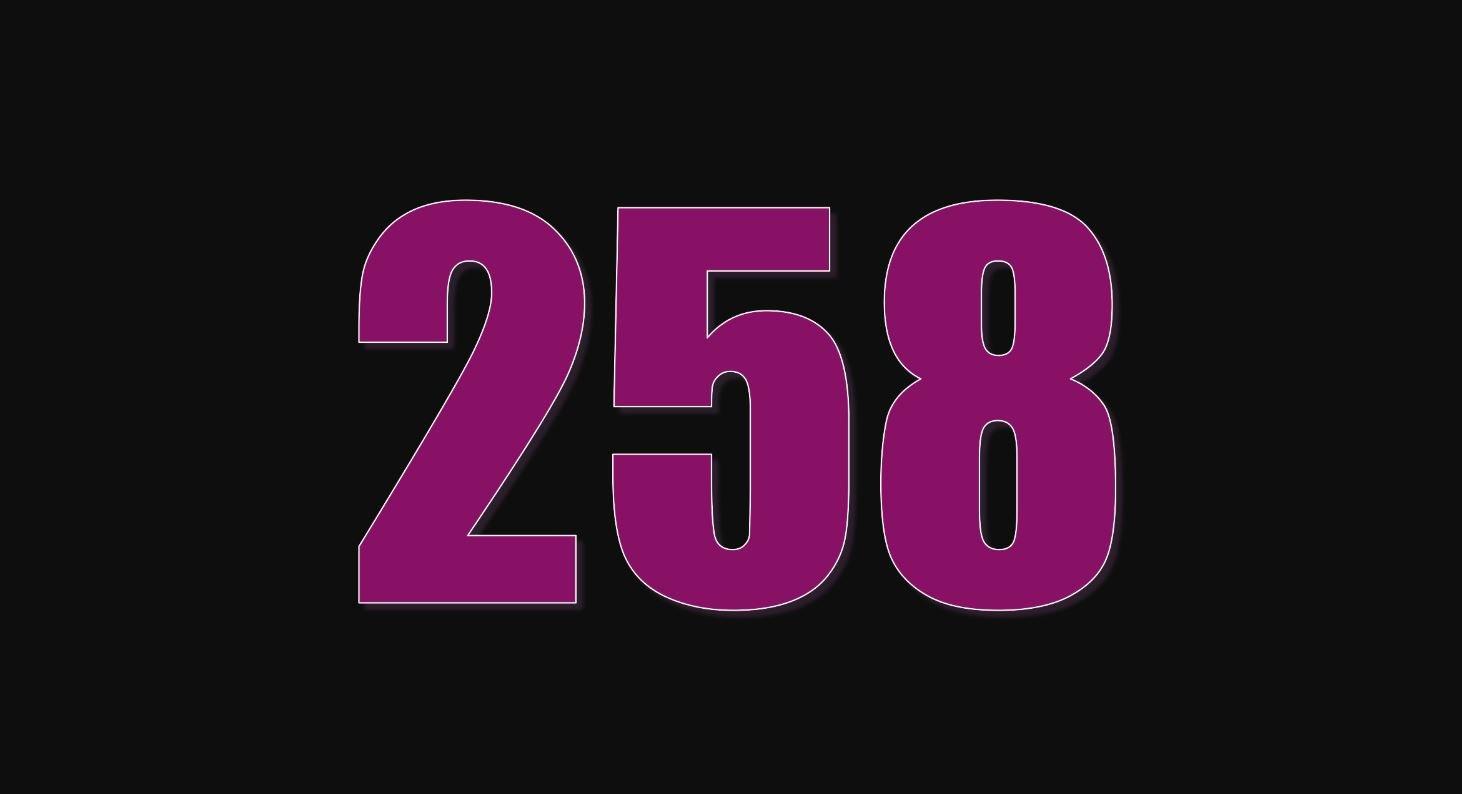 Numerologie 258