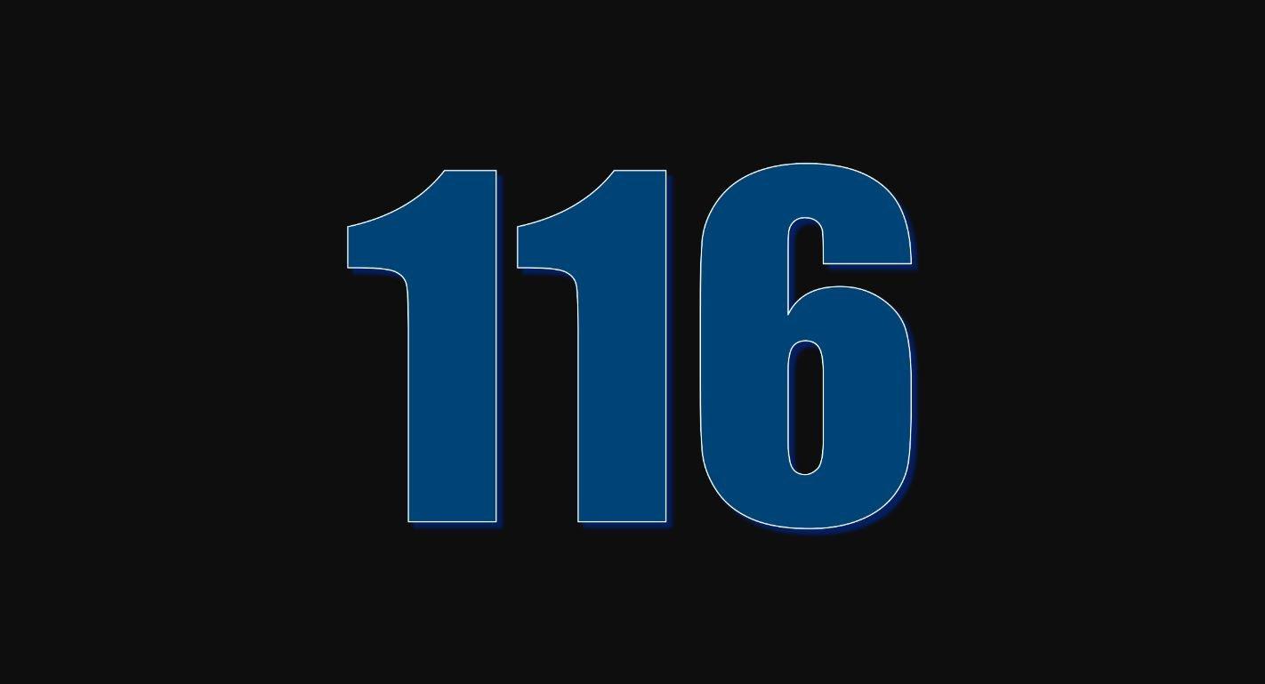 Numerologie 116