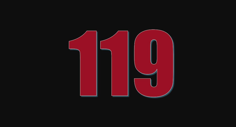 Numerologie 119