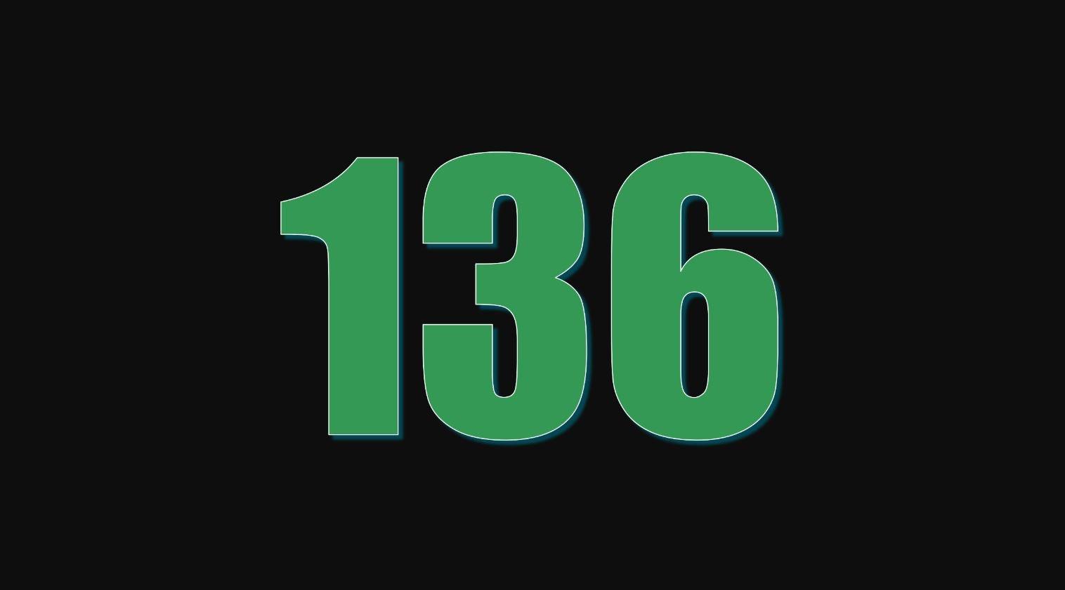 Numerologie 136