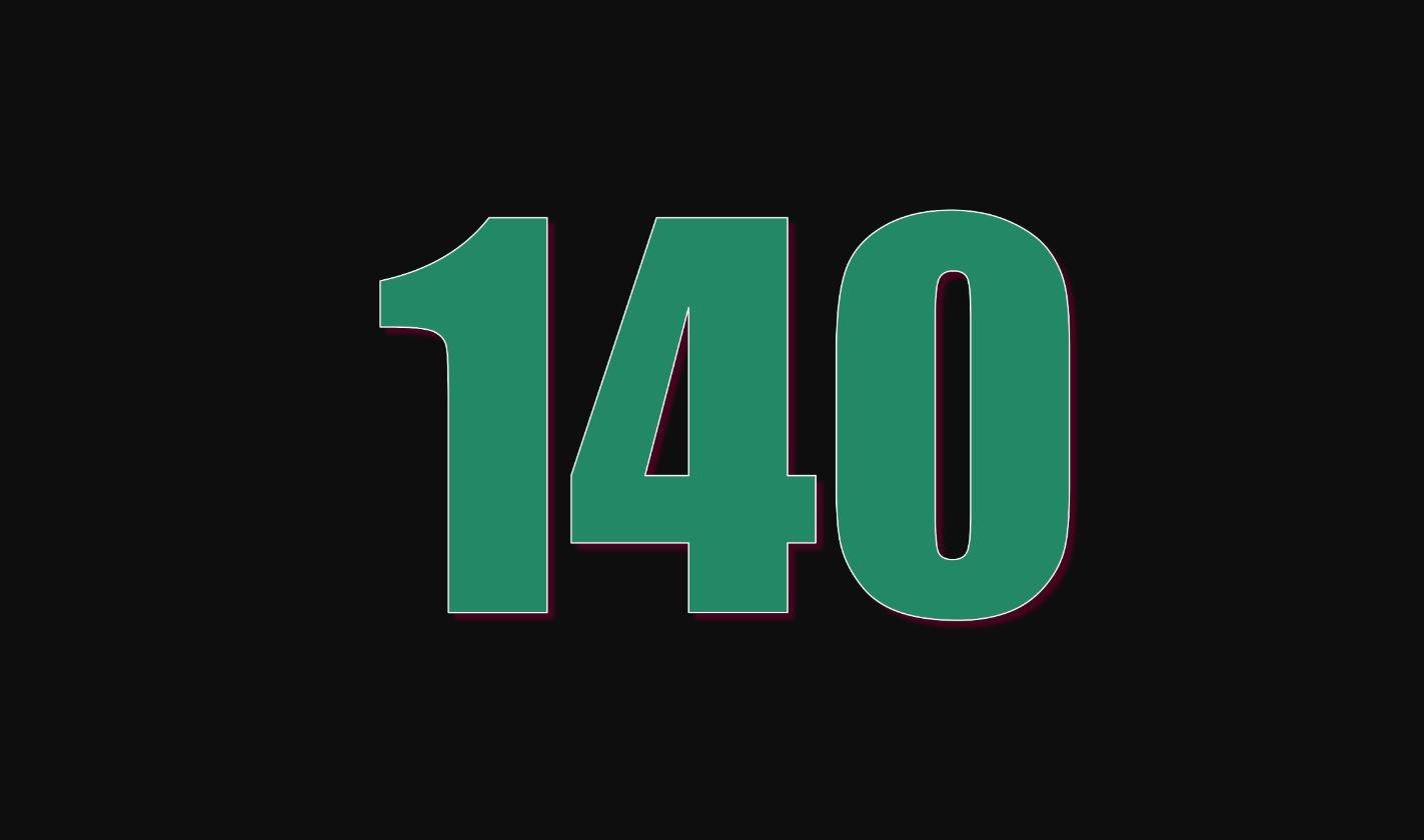 Numerologie 140