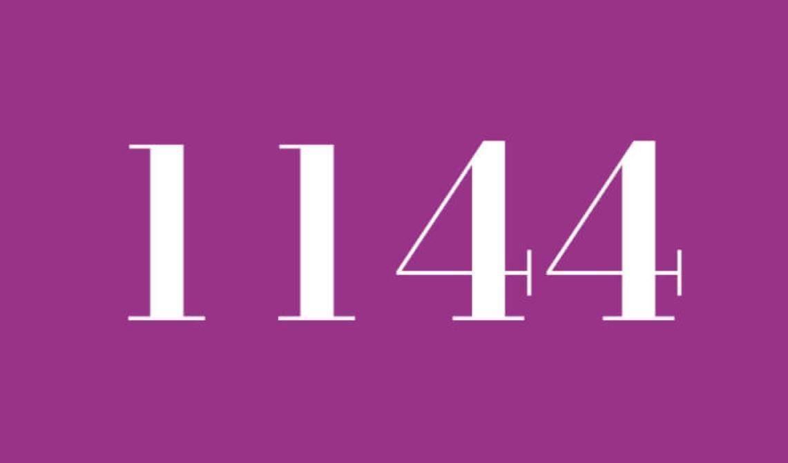Numerologie 1144