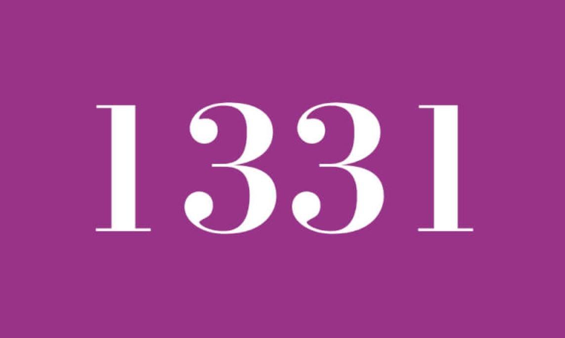 Numerologie 1331