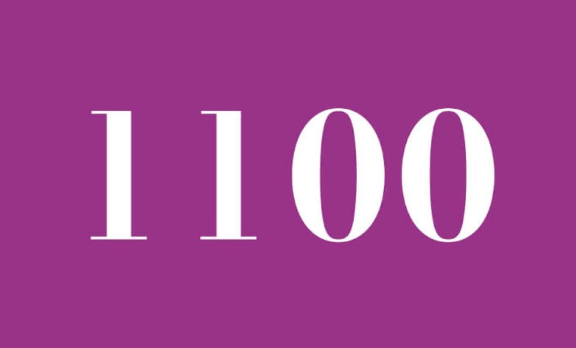 Numerologie 1100