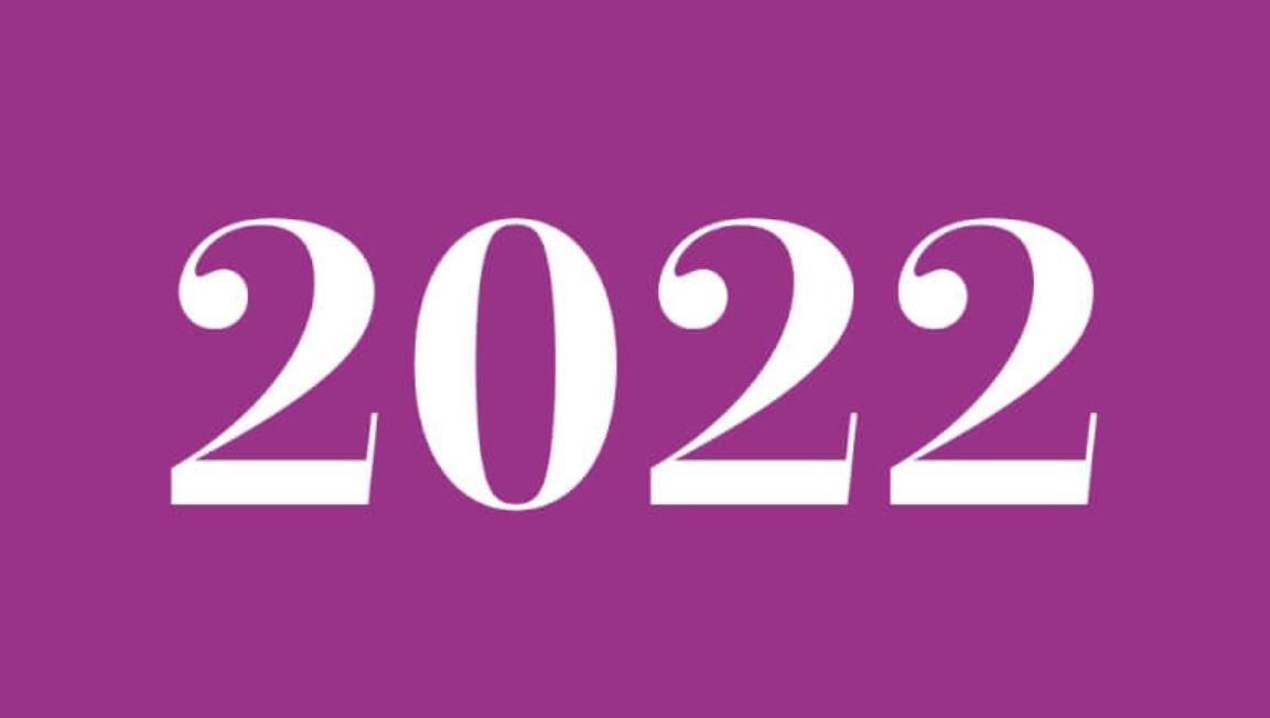 Numerologie 2022
