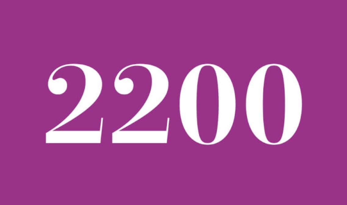 Numerologie 2200