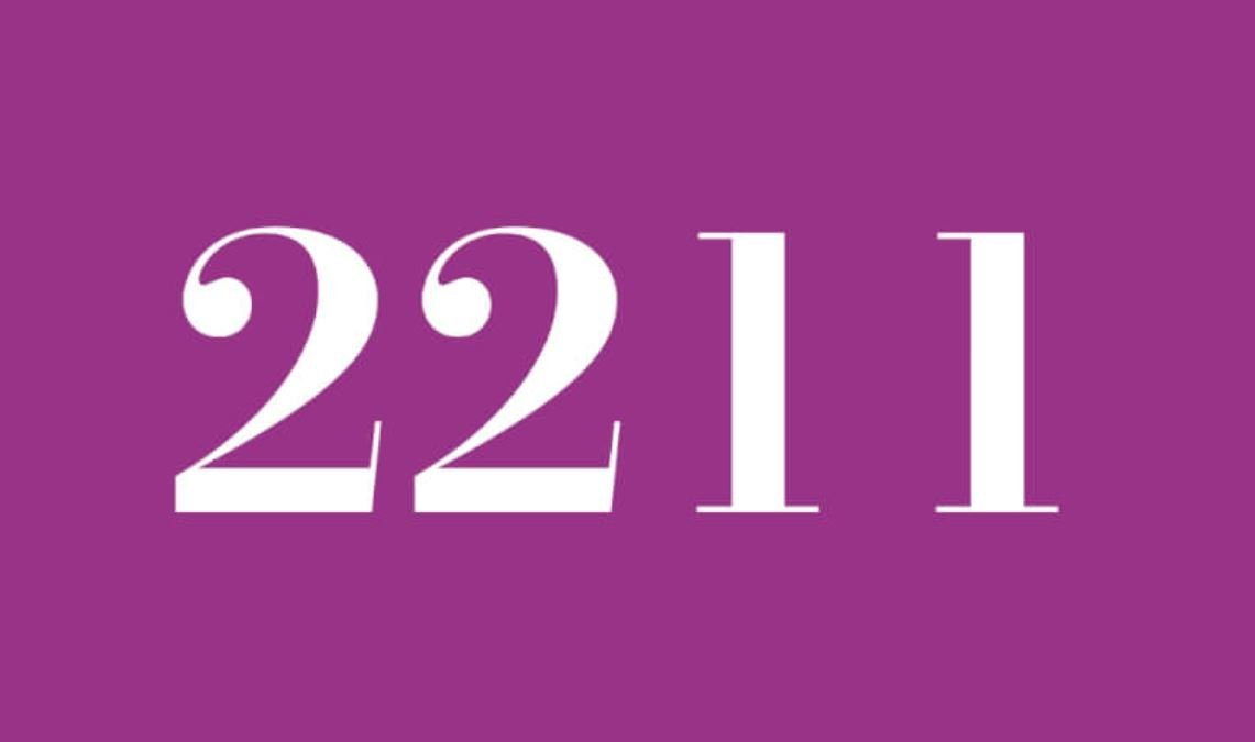 Numerologie 2211
