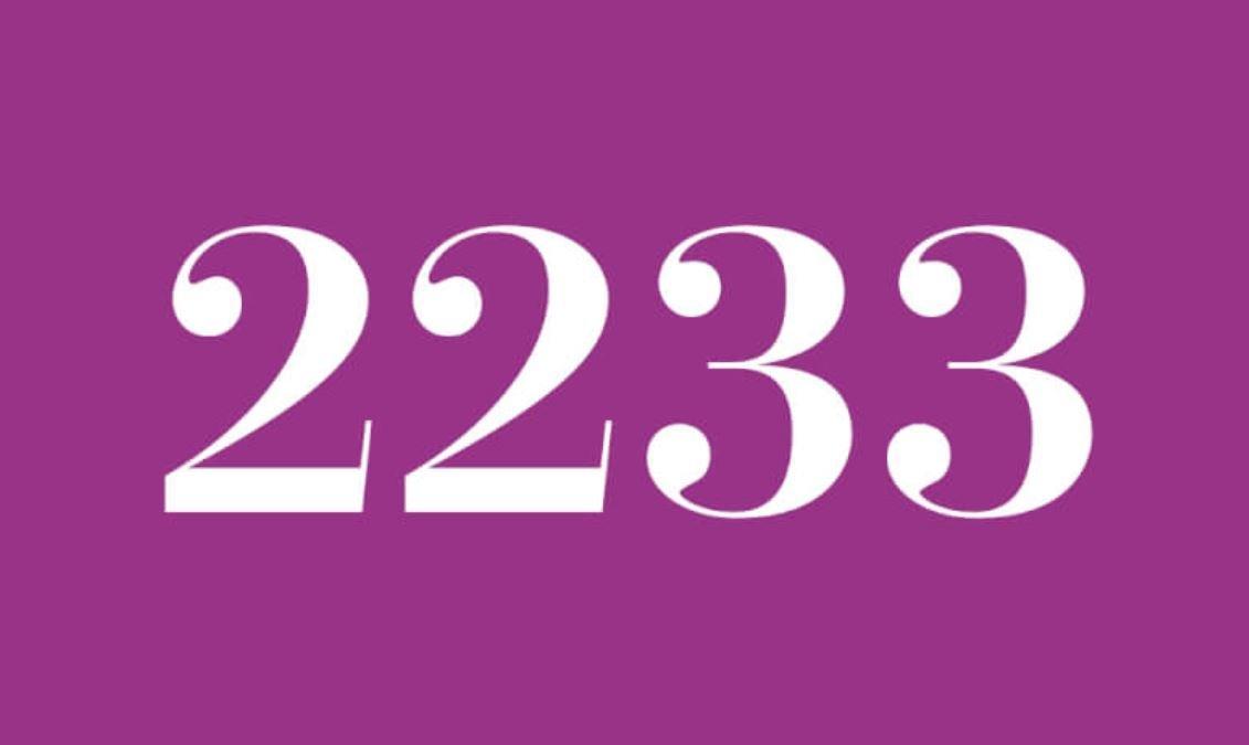 Numerologie 2233