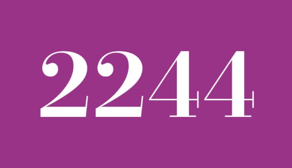 Numerologie 2244