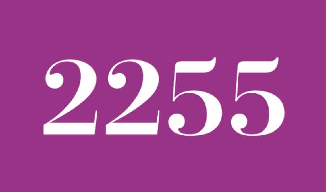 Numerologie 2255