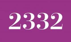 Numerologie 2332: Betekenis en Symbolen
