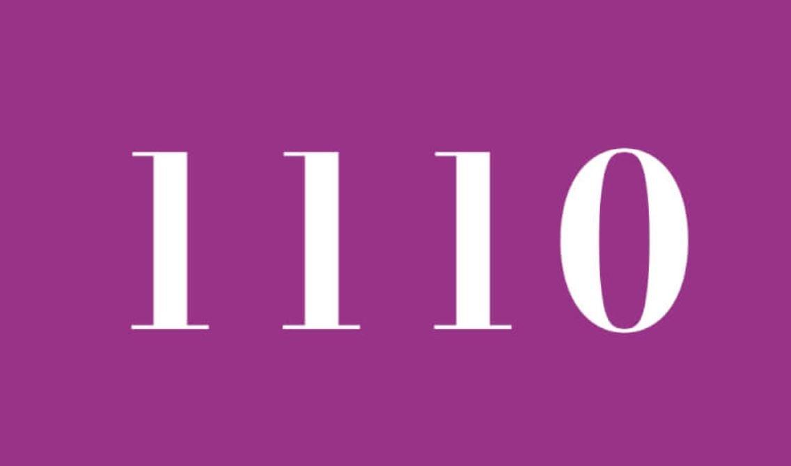 Numerologie 1110