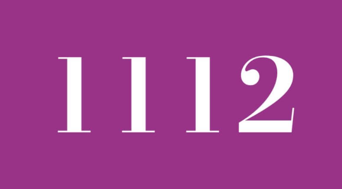 Numerologie 1112