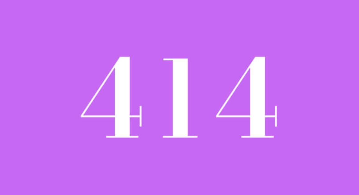 Numerologie 414