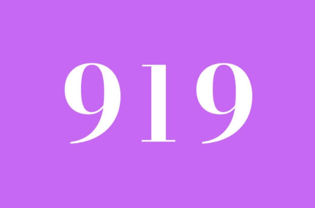 Numerologie 919