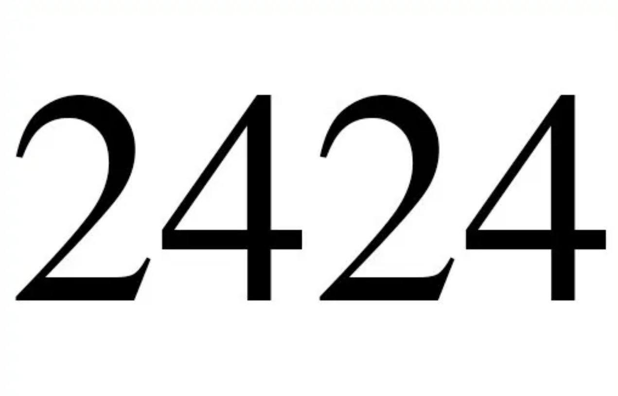 Engelengetal 2424