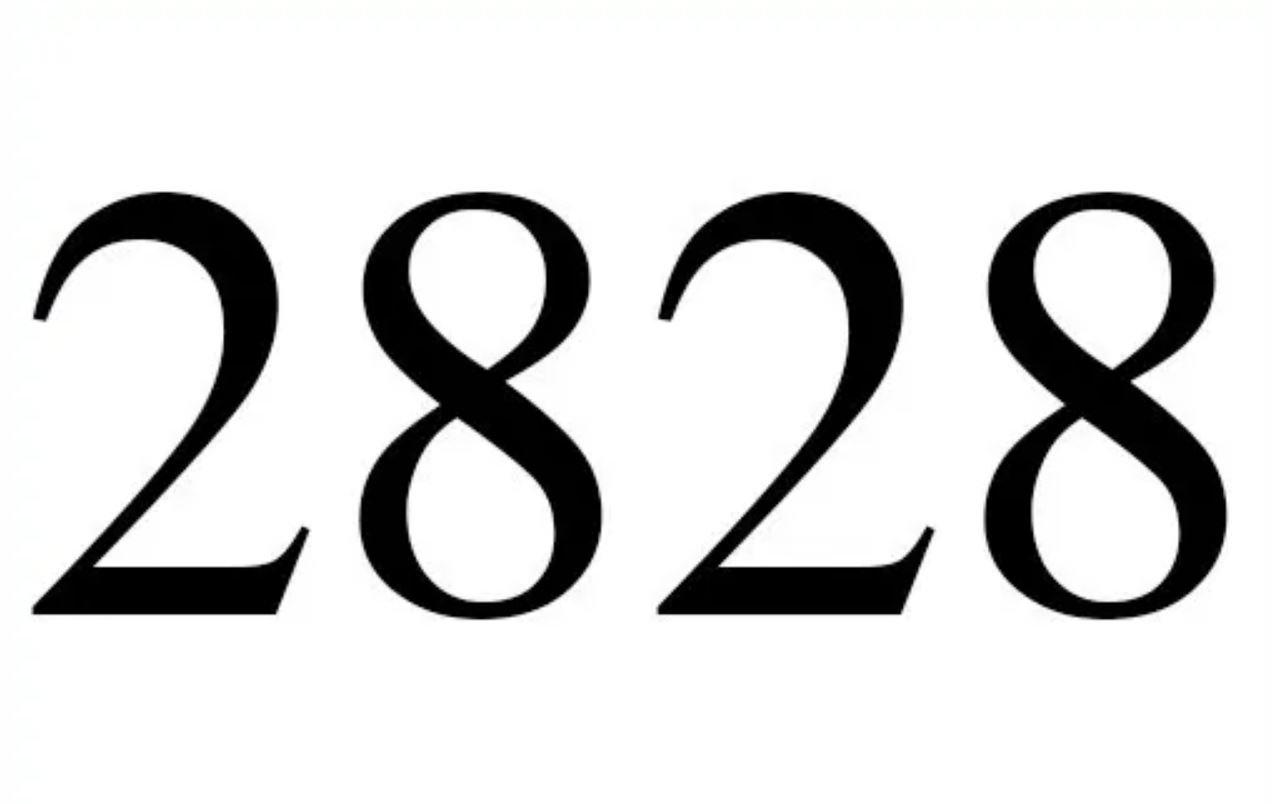 Engelengetal 2828