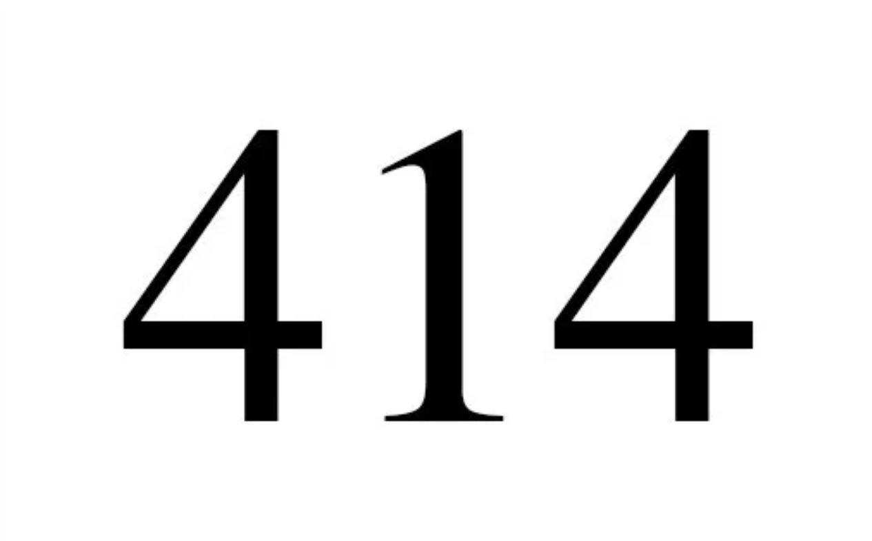 Engelengetal 414