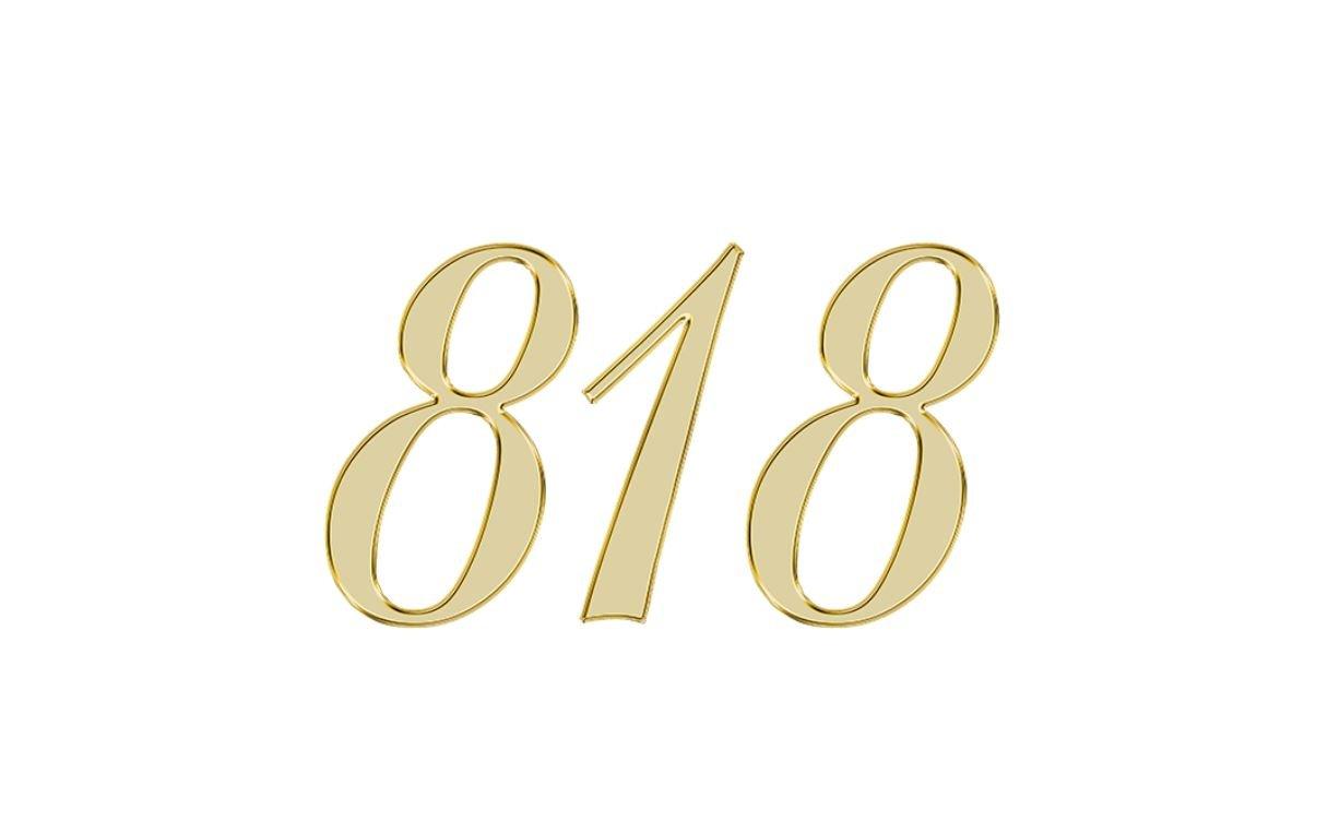 Engelengetal 818