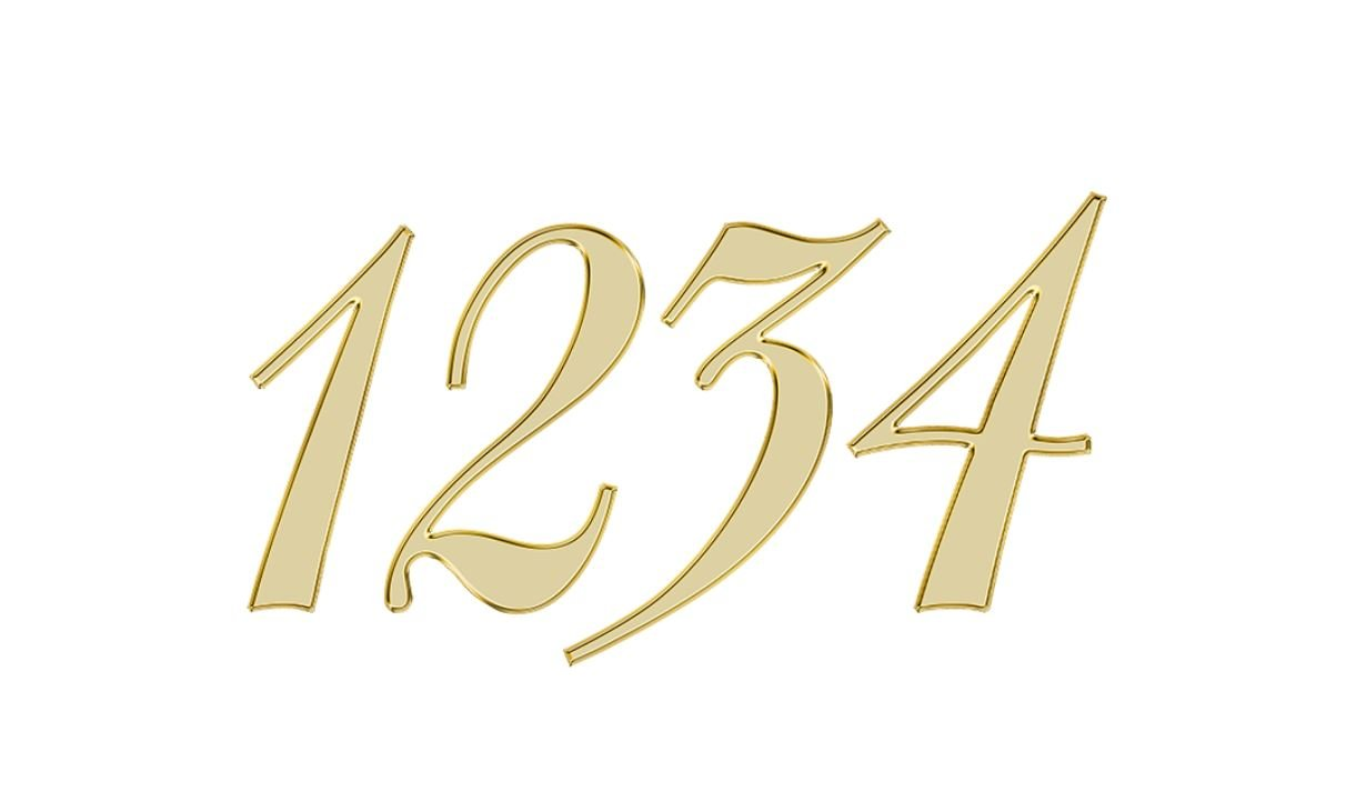 Engelengetal 1234